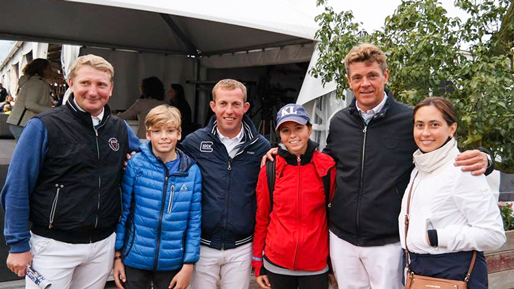 Our young riders meet the world champions 2014!